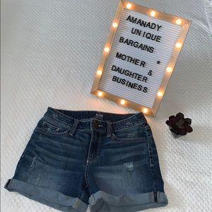 "🏟 A.n.a. Light distressed denim shorts 5"" 🏟"
